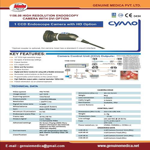 CYMO Endoscopy Camera