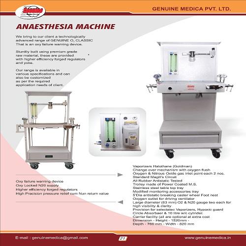 Anaesthesia Machine Manufacturer