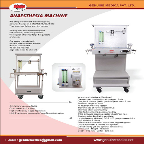 Anaesthesia Machine Manufacturer