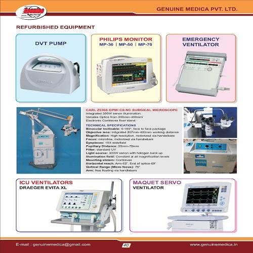 Refurbished Medical Equipments